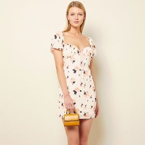 NWT The East Order Nora Floral Mini Dress S